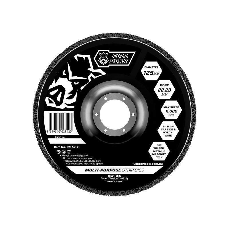 125mm Strip Disc 16mm Bore