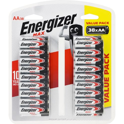 Energizer Max AA Batteries - 38 Pack