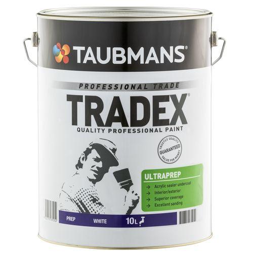 Taubmans Tradex Ultra Prep White Undercoat - 10L