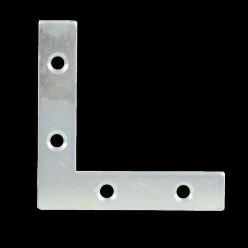 Carinya 75 x 75 x 16.5 x 2.5mm Zinc Plated Reinforced Corner Brace