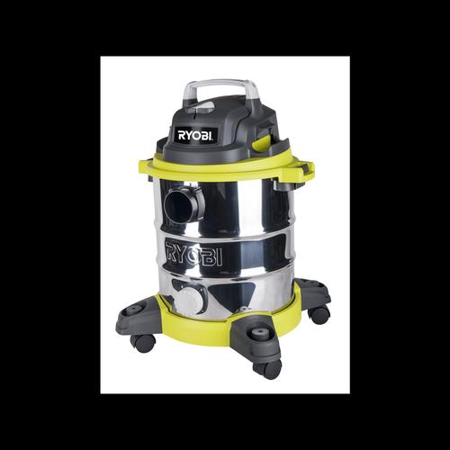 Ryobi 20L Stainless Steel Wet Dry Workshop Vacuum