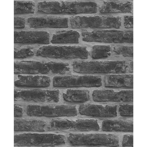 Superfresco Easy 52cm x 10m Industry Noir Wallpaper