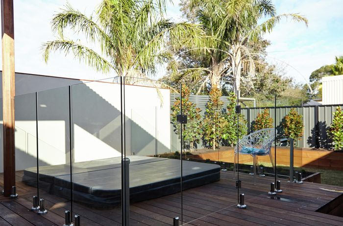 DIY Step Image - How to keep your glass pool fence safe . Blob storage upload.