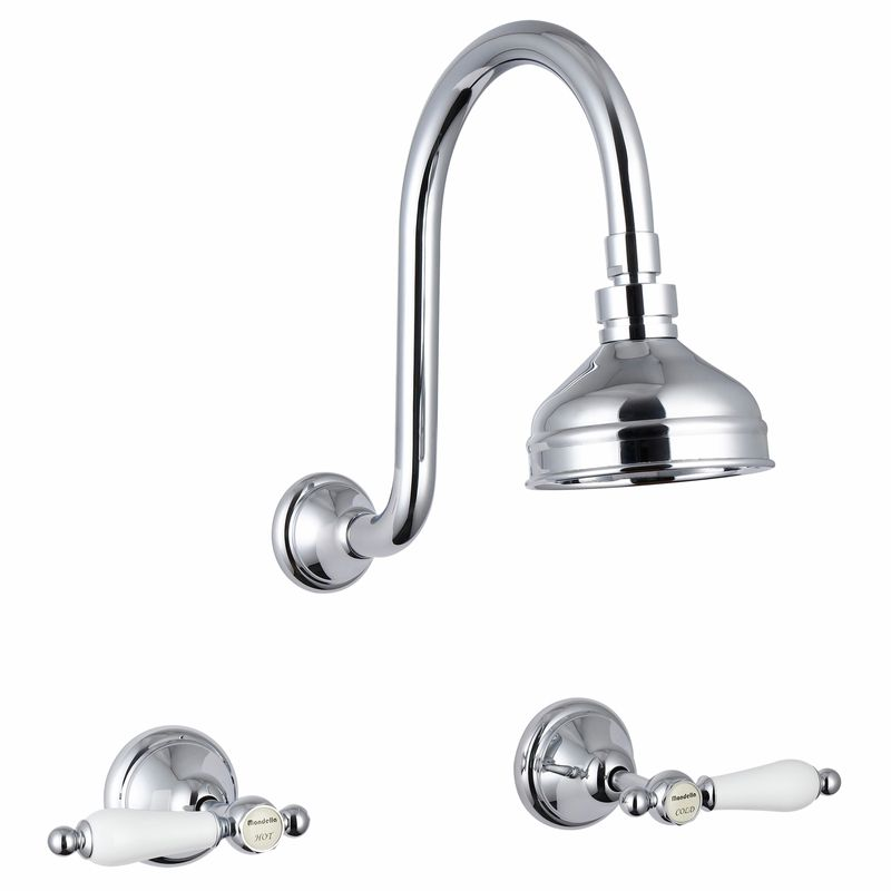 Maestro Chrome Plated Lever Handle Shower Set