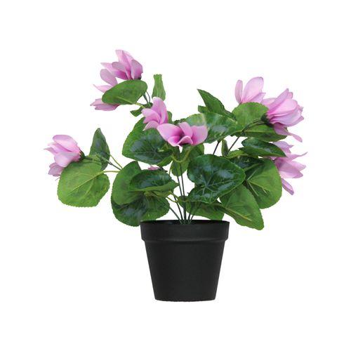 UN-REAL 40cm Artificial Lilac Cyclamen