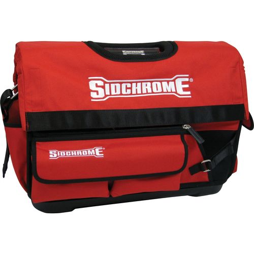 Sidchrome 500mm Red Open Tote Heavy Duty Tool Bag