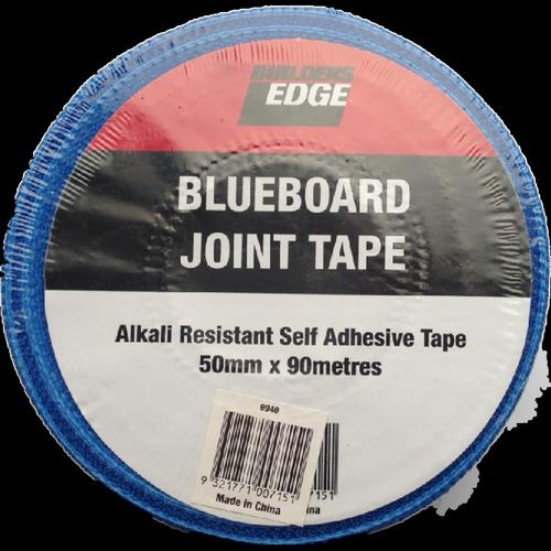 Builders Edge 50mm x 90m Alkali Resistant Render Fibre Cement Tape