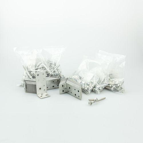 LUMBERLOK Stainless Steel Deck Joist Fixing - 50 Pack