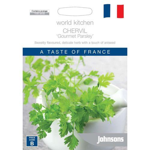 Johnsons World Kitchen Chervil Gourmet Parsley Seeds