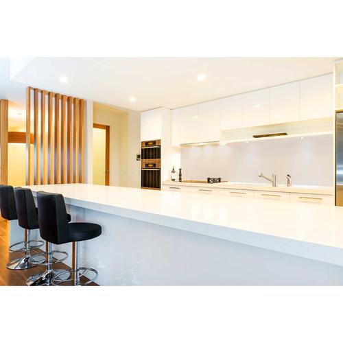Bellessi 650 x 895 x 5mm Glass Filler Panel - Silver Ghost