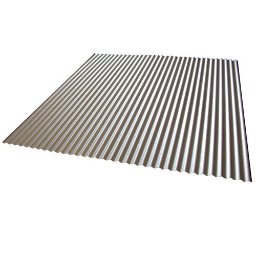 Fielders 1000 x 840 x 6mm Classic Cream Mini Flute Steel Sheet