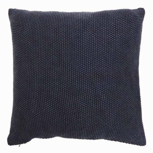 Country Style Parker Indigo Knitted Cushion 50cm