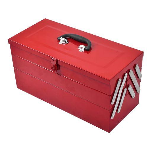 Craftright 460mm 5 Tray Powdercoated Tool Box