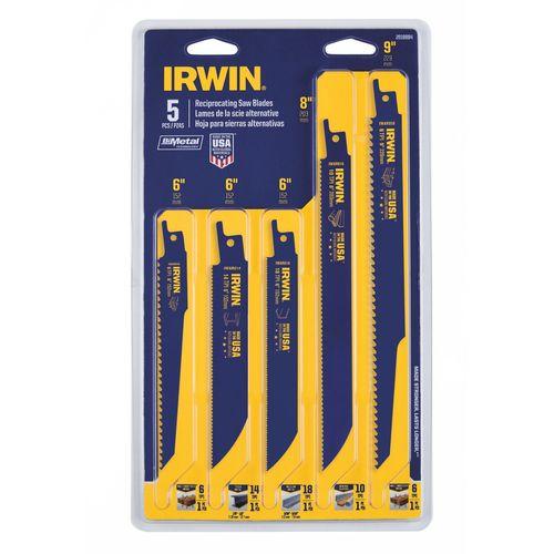Irwin 5 Piece Recip Kit