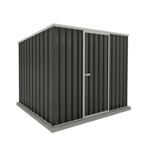 Absco Sheds 2.26 x 1.52 x 1.80m Space Saver Reverse Skillion Shed - Monument
