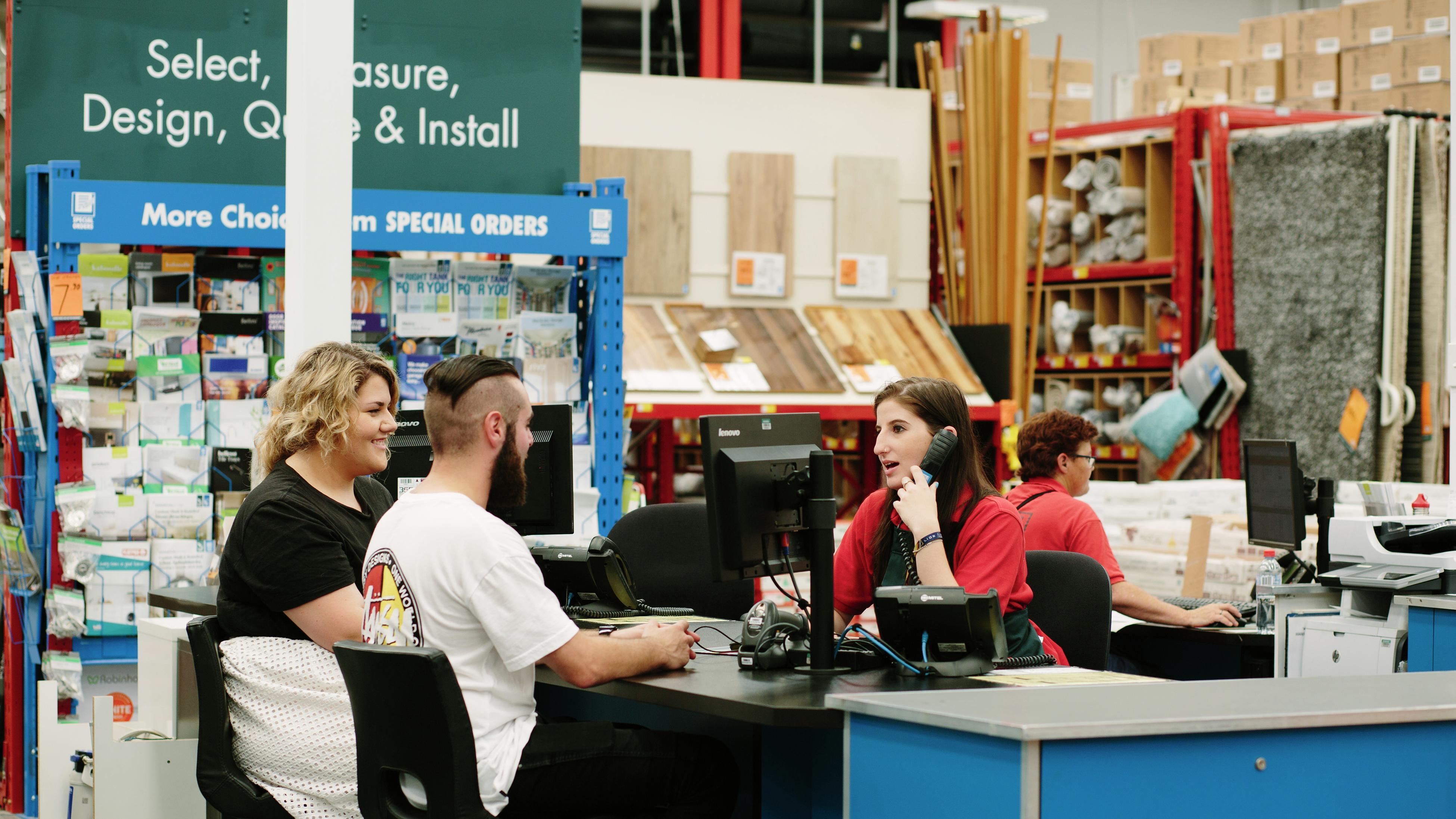 VIC Metro - Mentone - 6400 - Warehouse - Special Orders counter