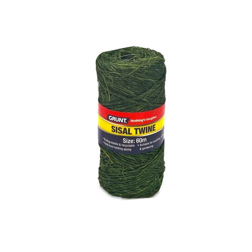 Grunt 60m Dark Green Sisal Twine