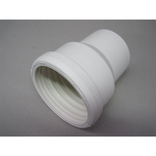 Pacific Nucon Pan Connector  80x100mm White