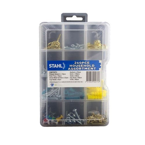 Stahl 260 Piece Household Assortment