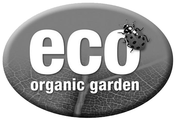 Eco-Organic garden logo.