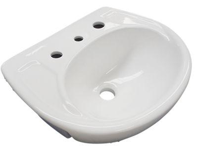 3 tap hole sink.