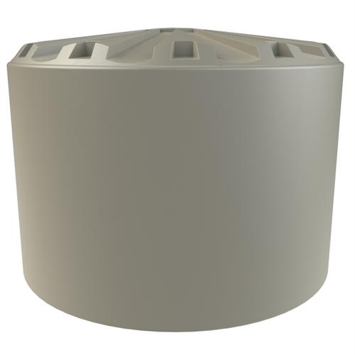 Melro 35000L Round Polyethylene Water Tank - Beige