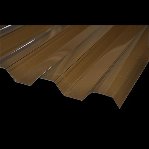 Suntuf 2.4m Bronze Greca Polycarbonate Sheet
