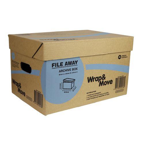 Wrap & Move Archive Carton