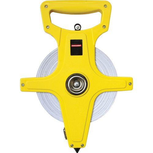 Fuller Open Reel Fibreglass Tape Measure 100m