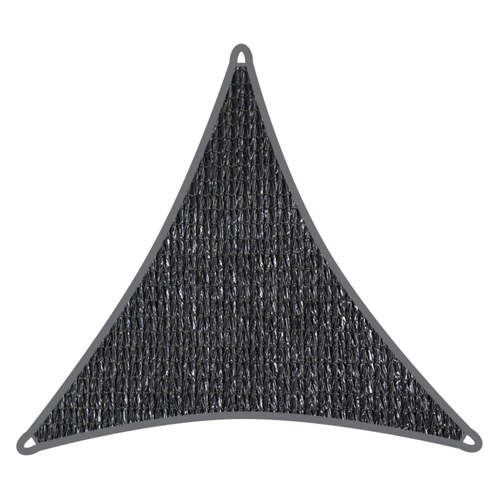 Coolaroo 5.0m Graphite Triangle Commercial Grade Shade Sail