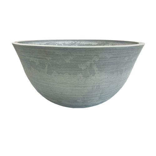 Respect 51cm Grey Green Earth Low Bowl Planter