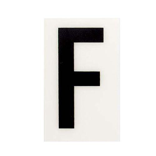 Sandleford 60 x 35mm F White Self Adhesive Letter