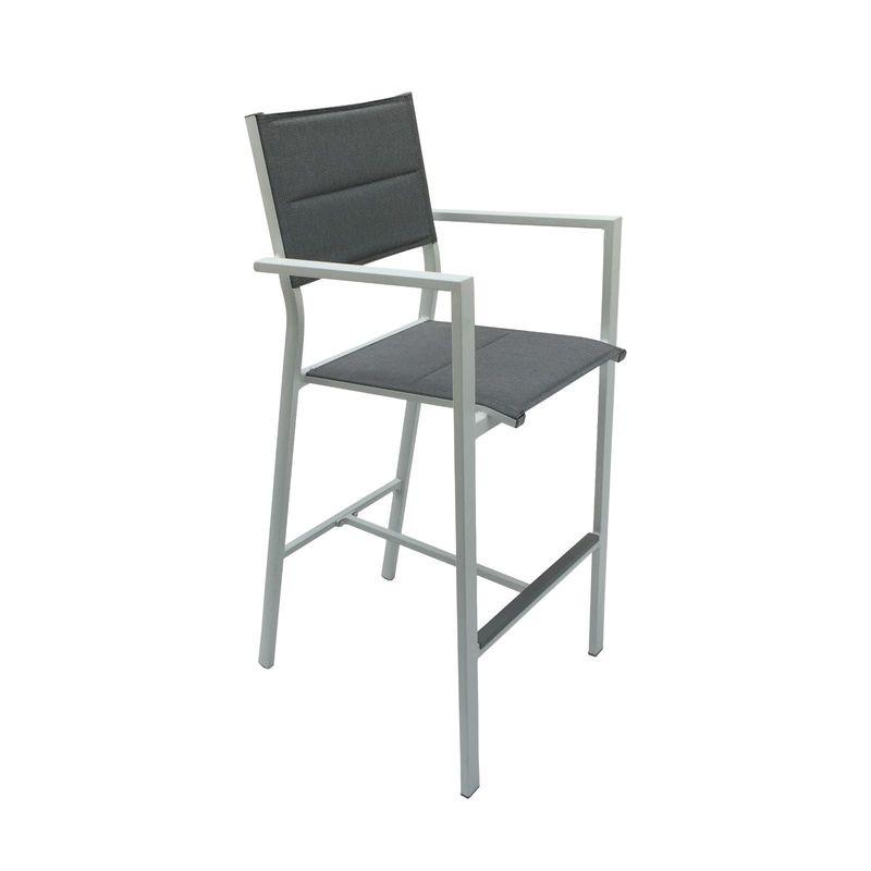 Coral Bay Padded Aluminium Bar Chair