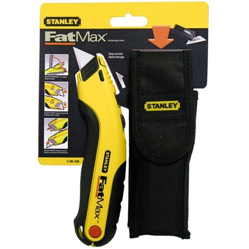Stanley FatMax Retractable Knife With Pouch
