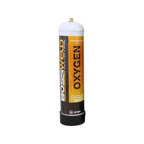 Bossweld 950ml Oxygen Disposable Gas Bottle