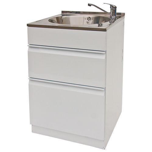 Dissco 565 x 560mm Eco Twin Drawer Tub
