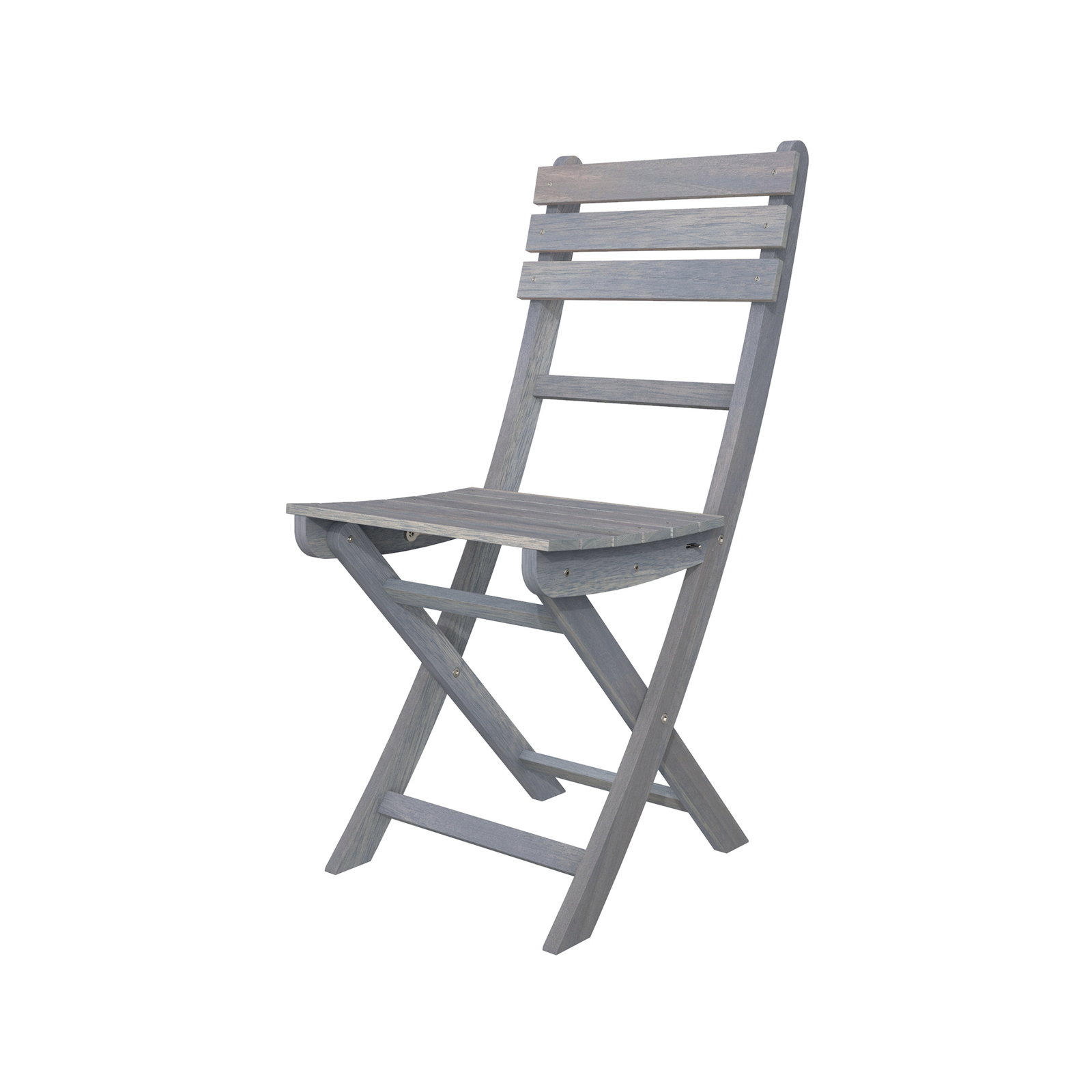 Interbuild Dusk Grey Sofia Folding Chair - 2 Pack