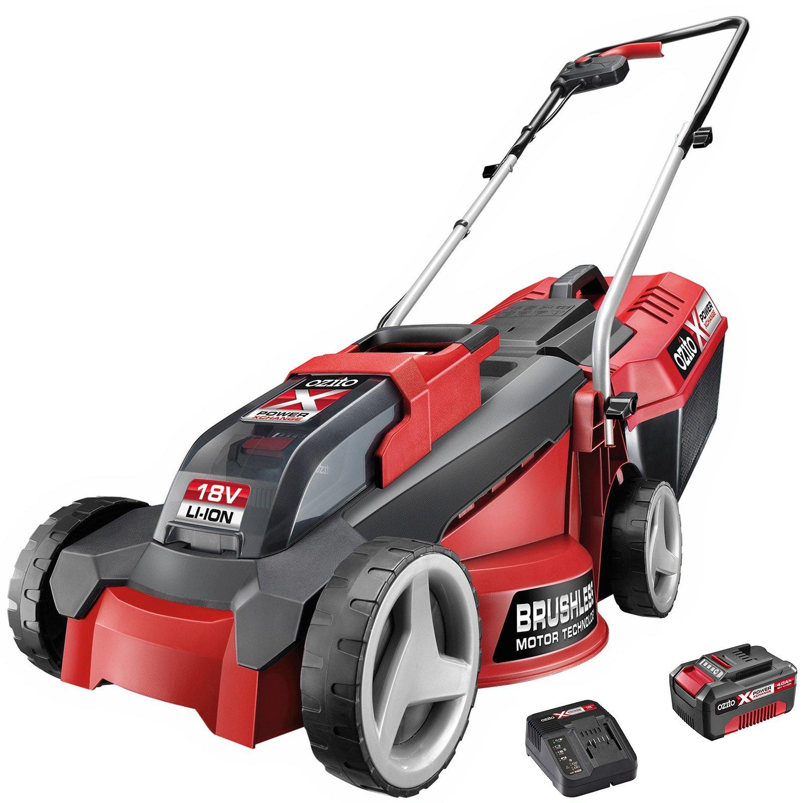 Ozito PXC 18V Brushless Lawn Mower Kit