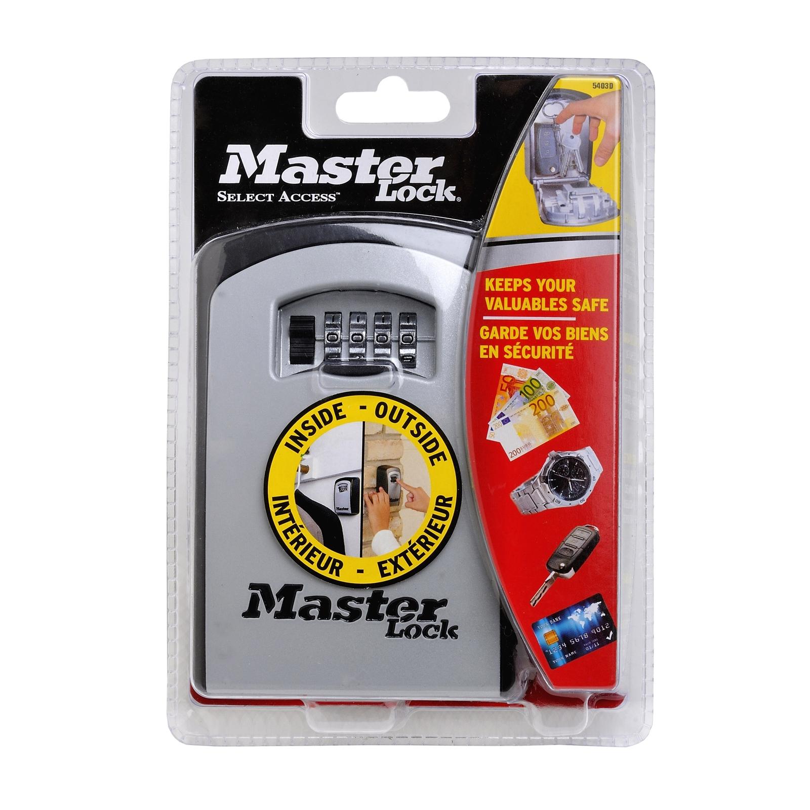 Master Lock Extra Large Wall Mounted Key Safe