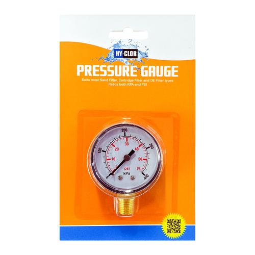 Hy-Clor Pressure Gauge