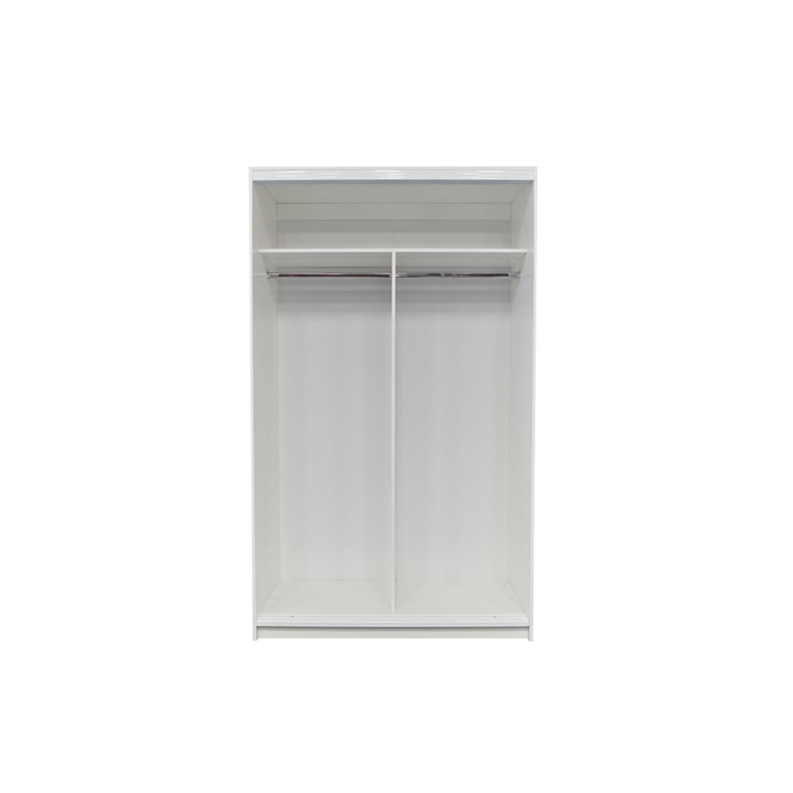 Bedford 2000 x 1200 x 595mm White Wardrobe Unit