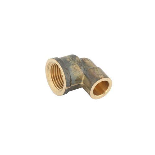 Kinetic 15CX x 15FI Female Brass Capillary Elbow