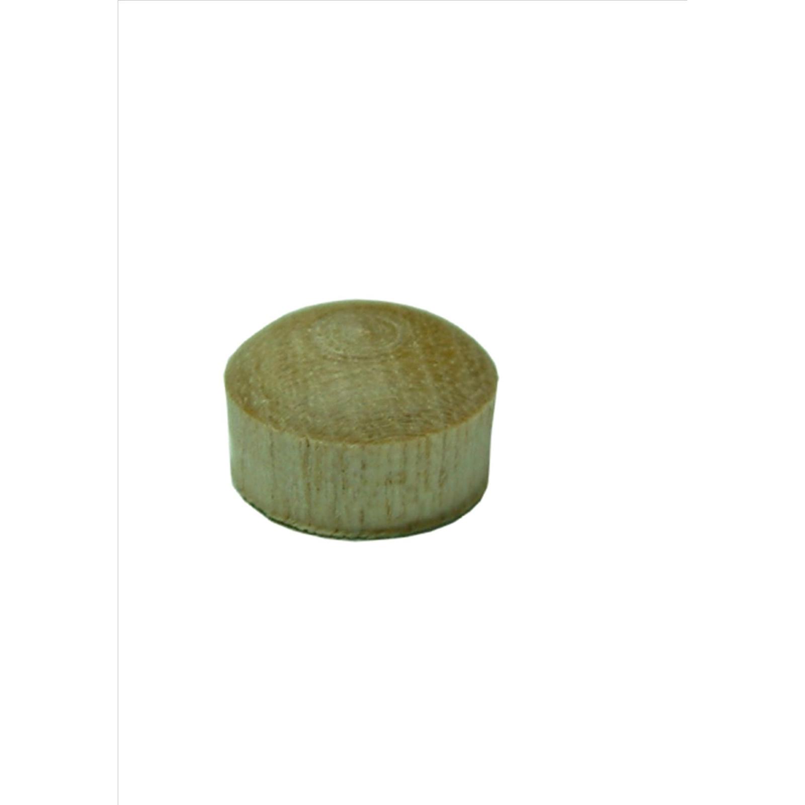 Xcel Button Plug Pine 9mm 8pk