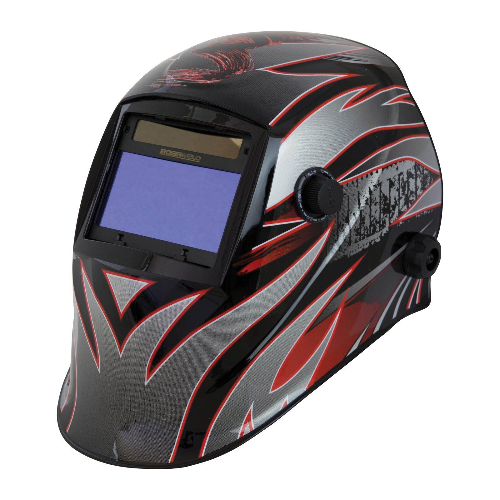 Bossweld XR4 Variable Shade Electronic Welding Helmet