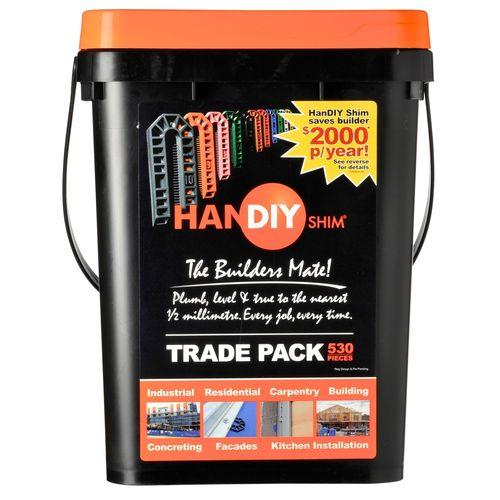 HanDIY Shim 1-10mm Packer Trade Pack - 530 Pack
