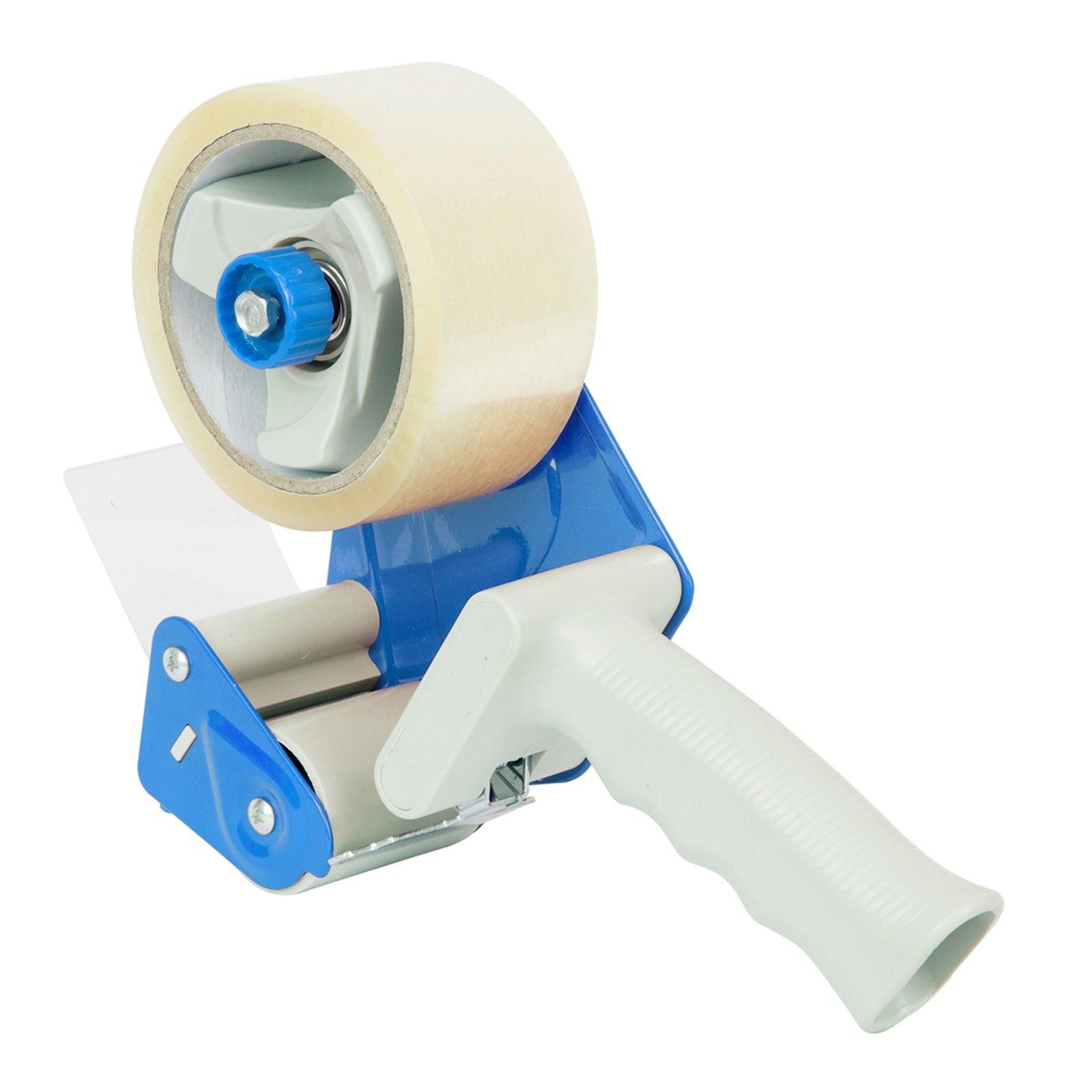 Wrap & Move Tape Dispenser Gun With 2 Tape Rolls