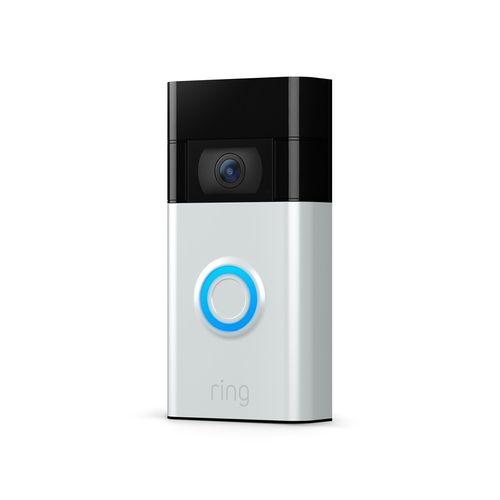 Ring Satin Nickel 2020 Release Video Doorbell