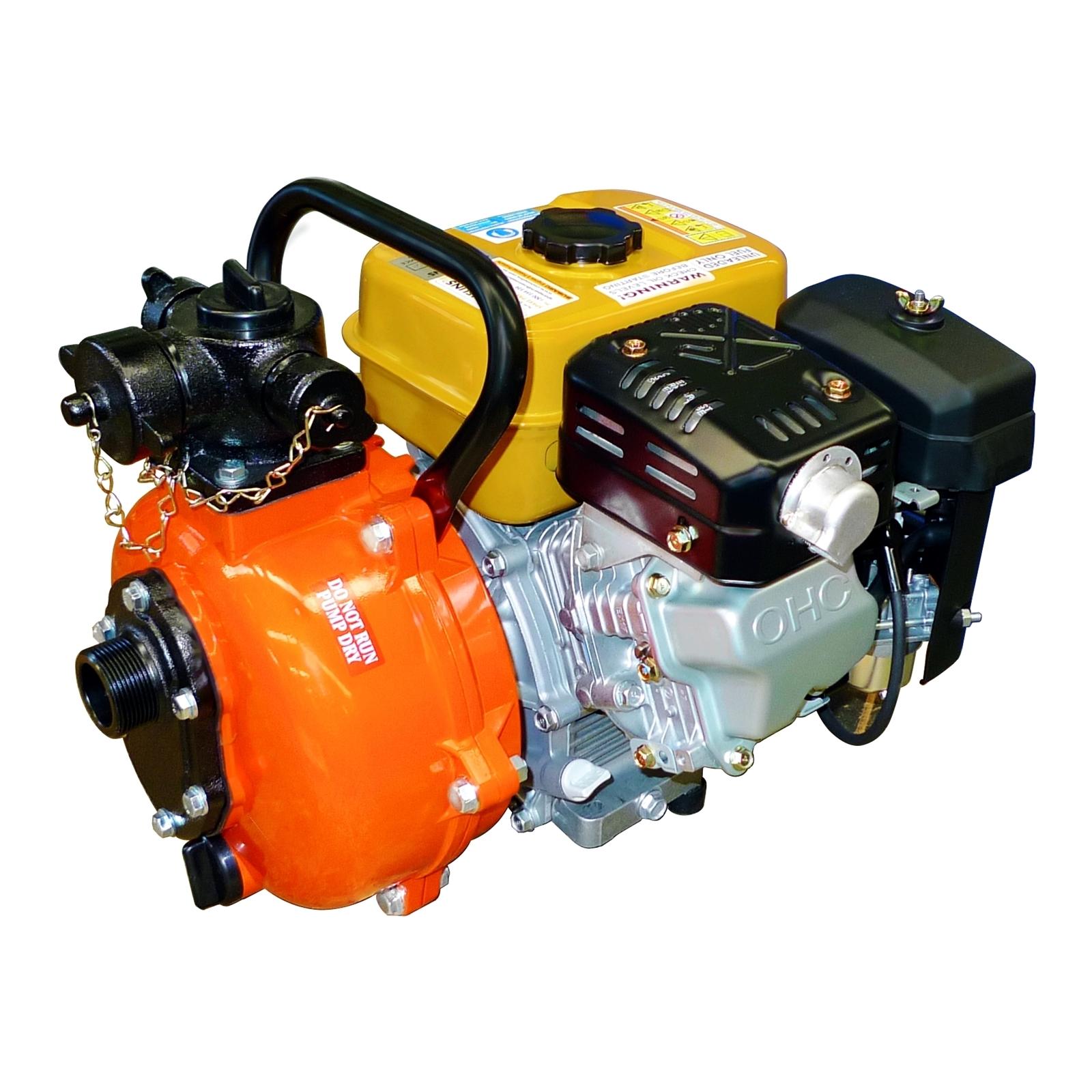 Crommelins 6HP Petrol Fire Fighting Pump