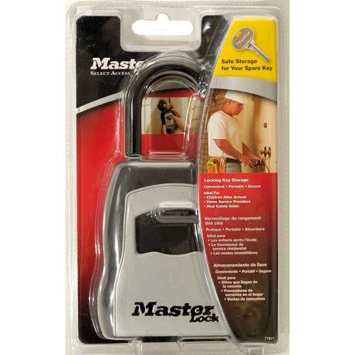 Master Lock Portable Key Storage Safe