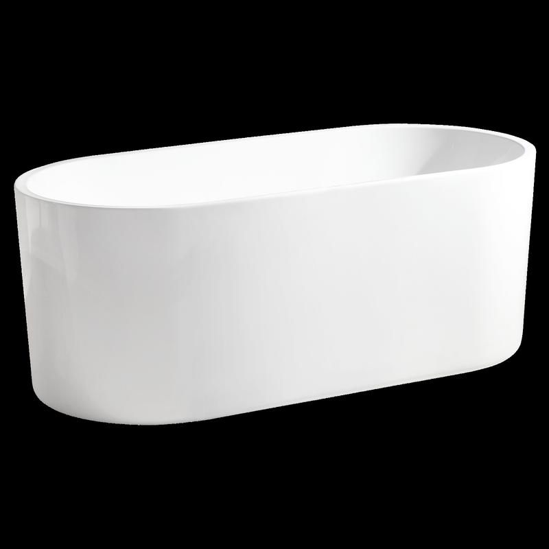 Rumba 1500 x 700 x 580mm Free Standing Bath